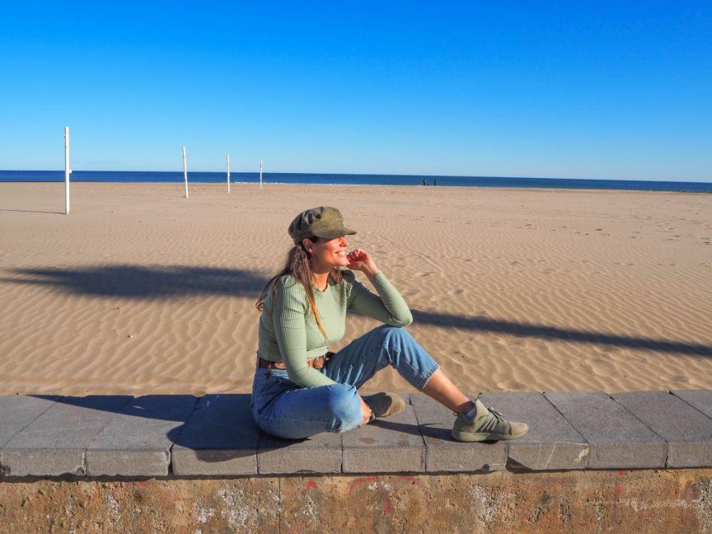 Playa Patacona en Valencia