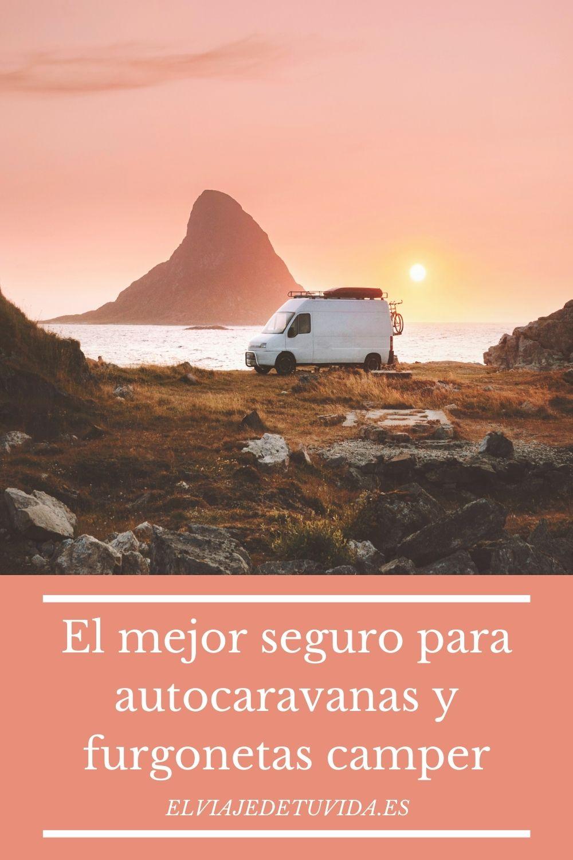Seguro para autocaravana y furgoneta
