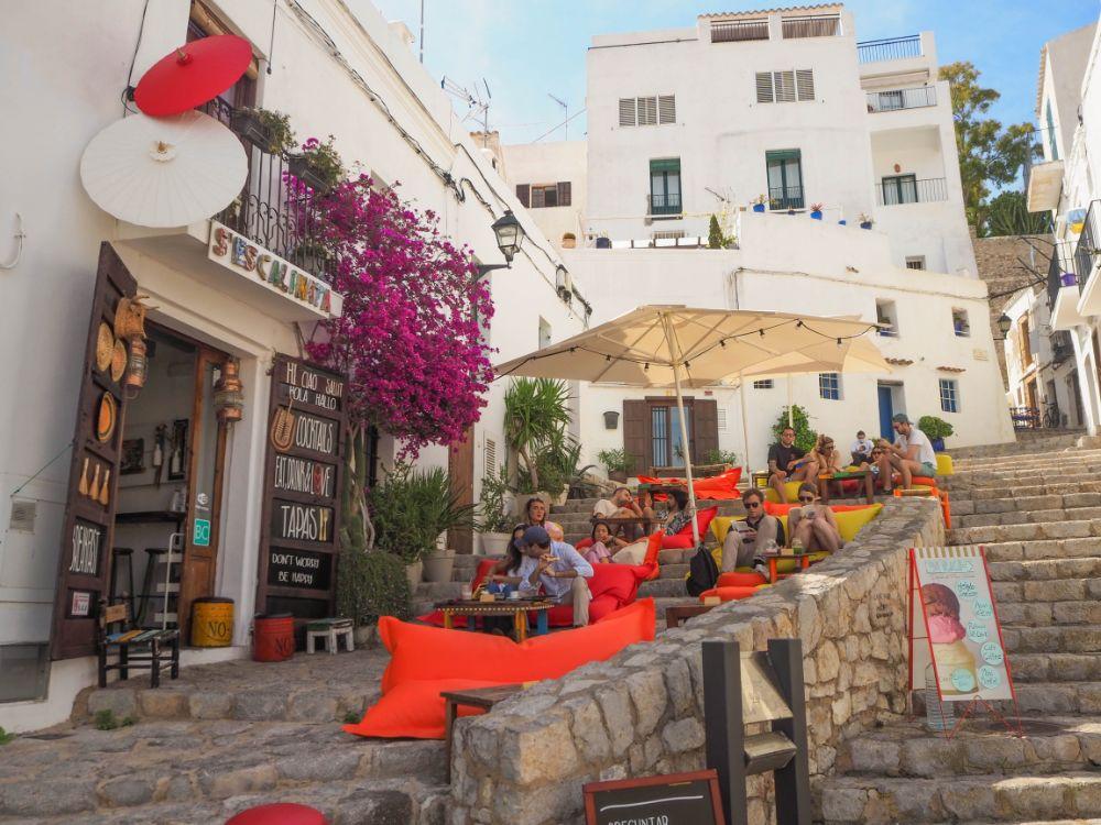 Donde tomar algo en Ibiza