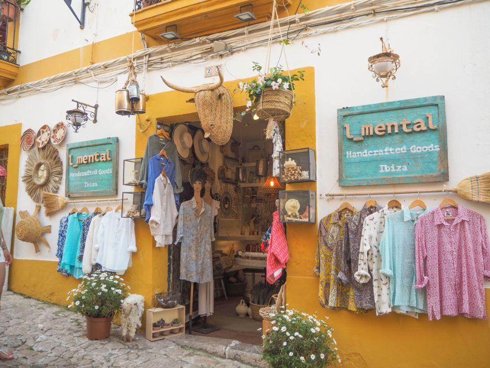Tiendas en Ibiza