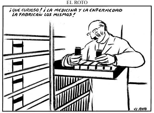 Industria farmacéutica vs salud pública