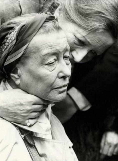 La mirada de Simone de Beauvoir