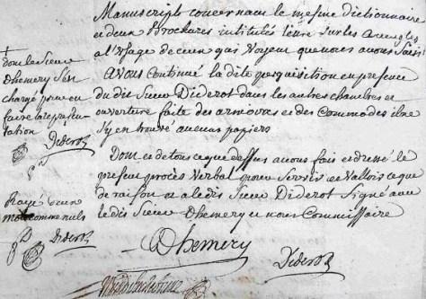 Denis Diderot filósofo enciclopedista