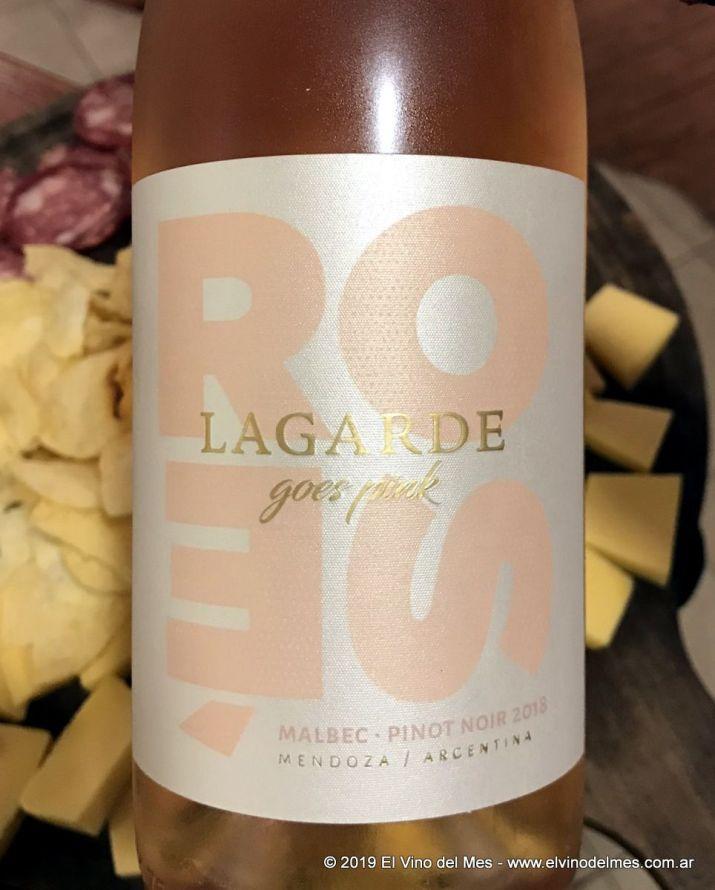 Resumen 2019 de El Vino del Mes - Febrero: Lagarde Goes Pink Rosé 2018