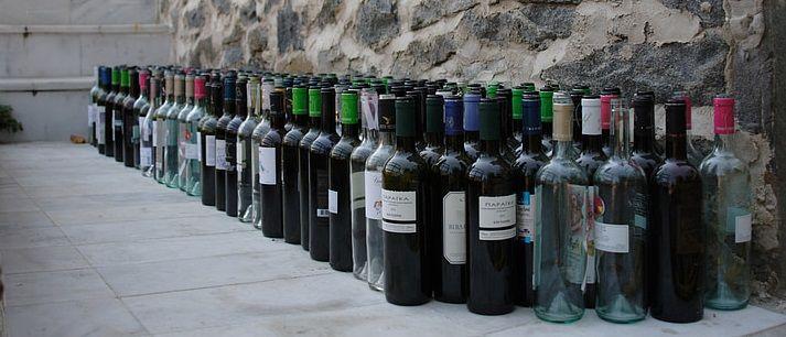 habitos de abastecimiento - botellas vacias