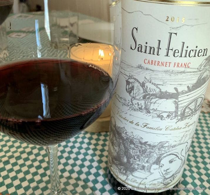 Saint Felicien Cabernet Franc 2015