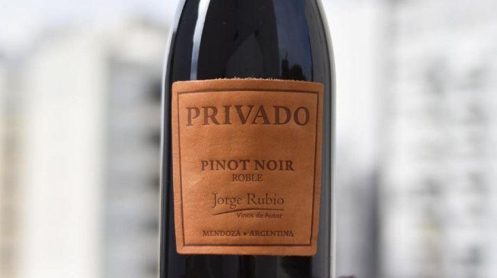 Jorge Rubio Privado Pinot Noir
