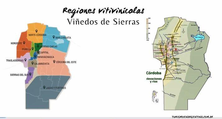 Regiones de los Vinos de Córdoba