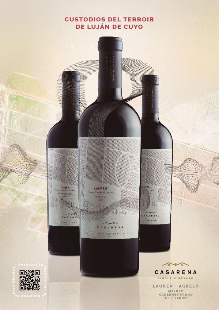 Etiquetas de la línea Single Vineyard de Casarena