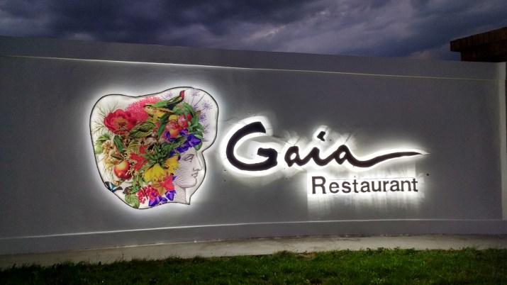 Gaia restaurante - Domaine Bousquet
