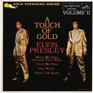 Introduction to A Touch Of Gold: cover of the EP album A TOUCH OF GOLD, VOLUME 2.