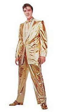 Introduction to A Touch Of Gold: photo of Elvis in his gold suit in early 1957.