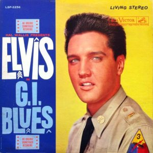 Final Four: cover of the stereo album G.I. BLUES (1960).