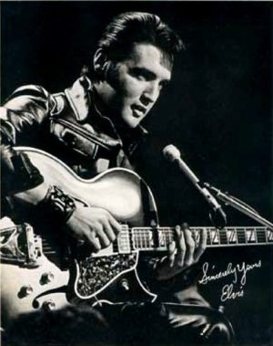 Another Mess Of Blues: photo (1) of Elvis making the NBC-TV Special on June 27, 1968.