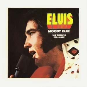 Final Album: picture sleeve for American pressing of MOODY BLUE single.