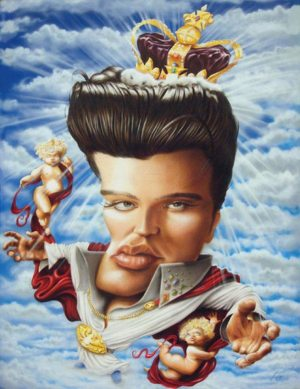 Golden Caricatures Volume 6: Elvis in Heaven by Glenn F.