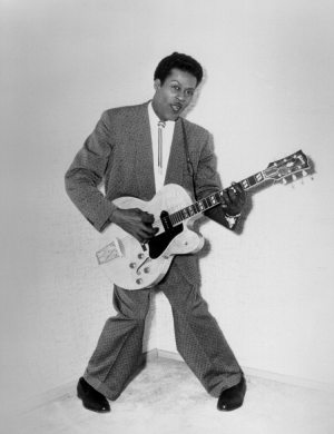 Quora Question: publicity photo of Chuck Berry in 1956.