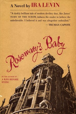 Good Omens: cover of first American edition of ROSEMARY'S BABY.