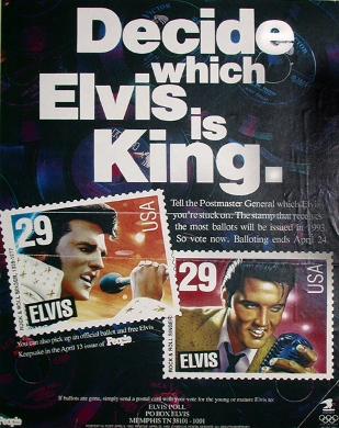 Image result for young elvis stamp