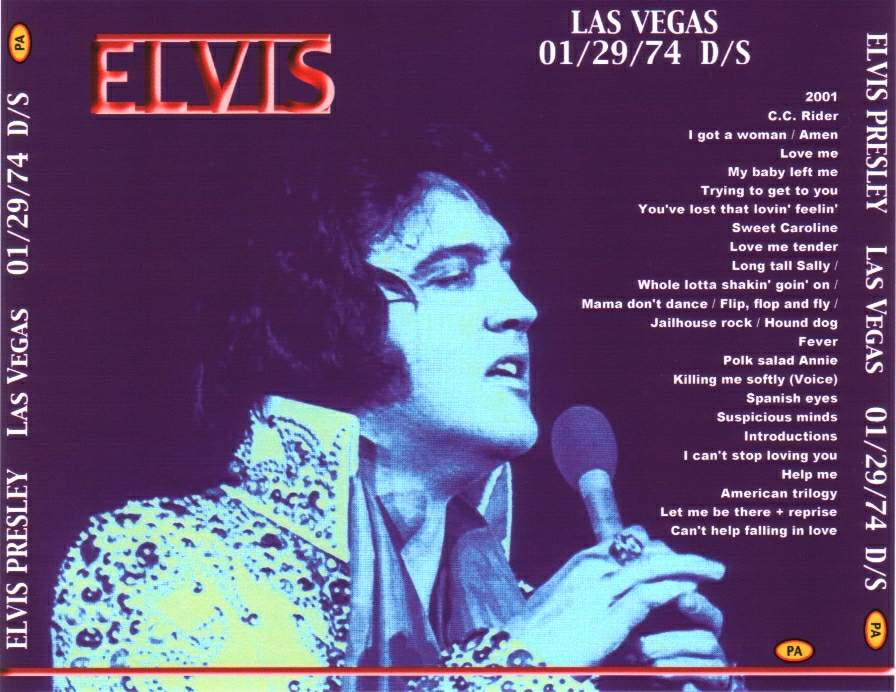 Image result for Elvis Presley january 29, 1974