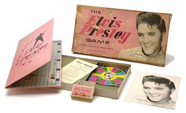 Image result for elvis presley april 5 1957, elvis board game