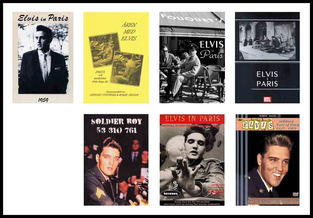 Image result for Elvis in paris book