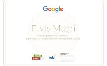 Eccellenza in digitale, grazie google