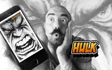 Hulk senza pennello e in omaggio sfondo per cellulare