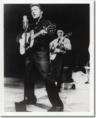 Elvis Presley : The Dorsey Brothers Stage Show : March 24, 1956