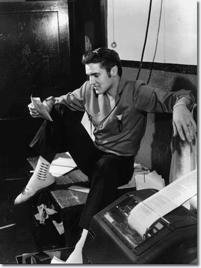 Elvis Presley 1956 The King Of Rock N Roll