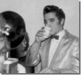 Elvis Presley Backstage at Toledo, November 22, 1956