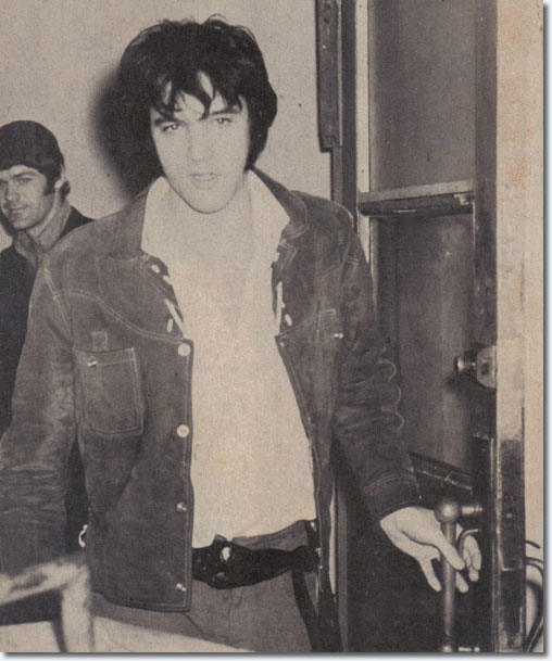 Elvis Presley : January 10, 1970.