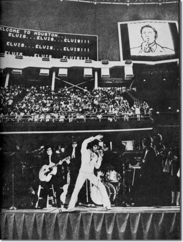 Elvis Presley : Houston Astrodome : March 1, 1970 : Afternoon Show.