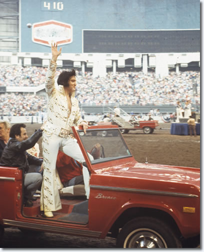Elvis Presley : Houston Astrodome : March 3, 1974