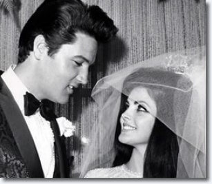 Image result for elvis presley wedding to priscilla