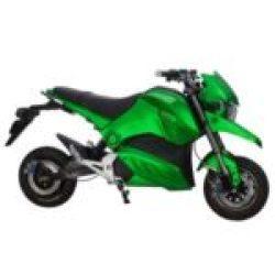 Электро байк цена от 1590 $. ElWinn EM-126 зеленого цвета