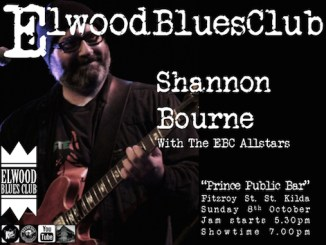Shannon Bourne at Elwood Blues Club