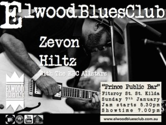 Zevon Hiltz at Elwood Blues Club