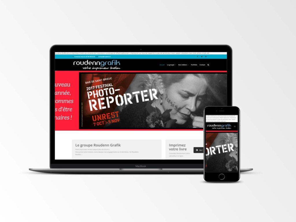 Roudenn - site internet