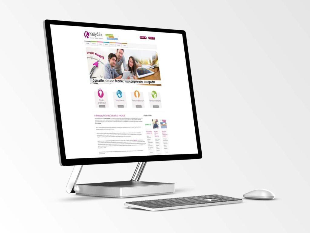 Kalydea - Site internet