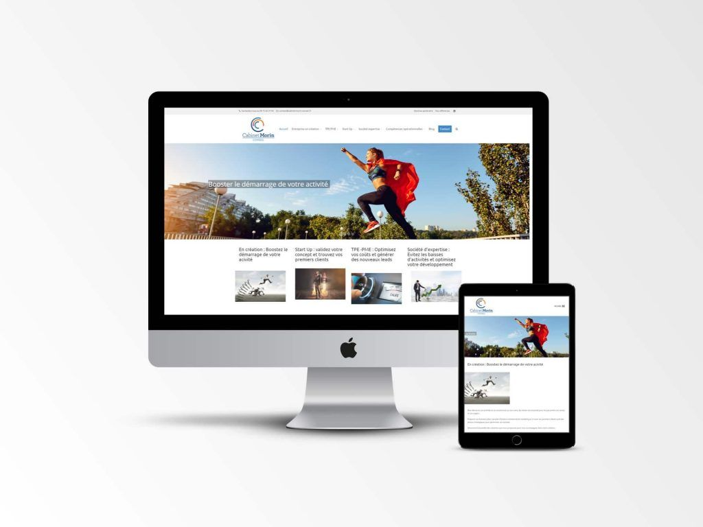 Cabinet Morin Conseil - Site webv