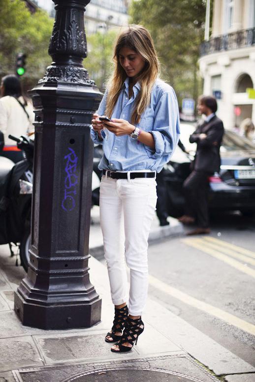 Le-Fashion-Blog-Sunday-Blues-Classic-Button-Down-Shirt-Street-Style-Via-Vogue-Spain-2