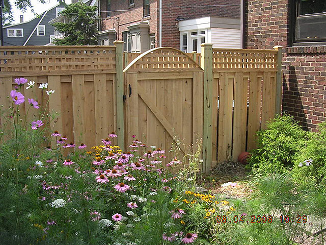 shadowbox fence designs