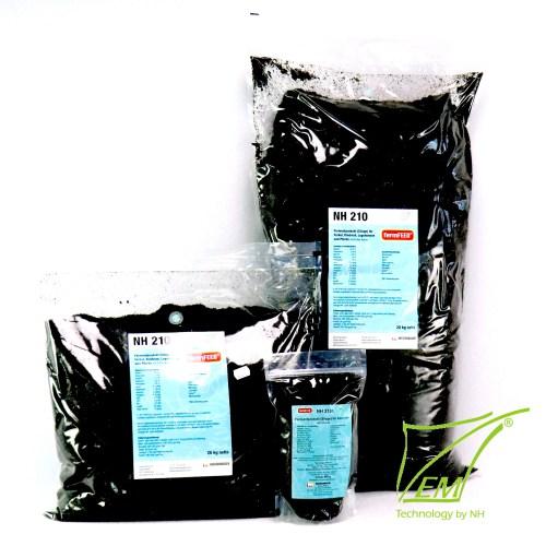Produktbild fermFEED® mit Futterkohle Gruppe