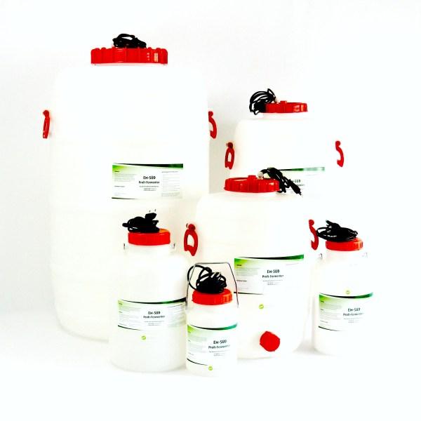 Produktbild Fertig-Fermenter mit Heizstab Gruppe