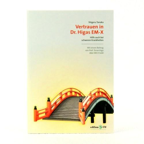 Produktbild Buch Vertrauen EM-X Higa