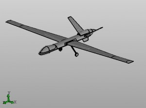 Picture of an unmanned aerial vehicle
