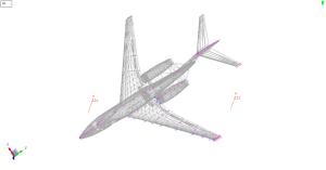 Leaders approach an aircraft