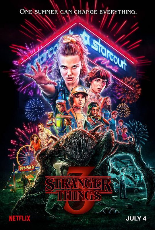 Stranger Things S3 – The Duffer Brothers