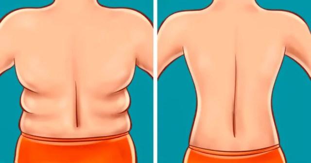 elimine os depositos de gordura